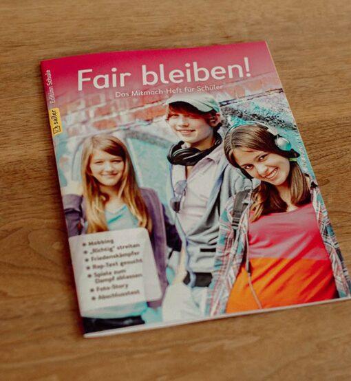 Mitmach-Heft Fair