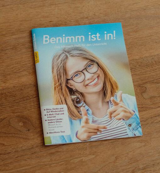 Mitmach-Heft Benimm ist in