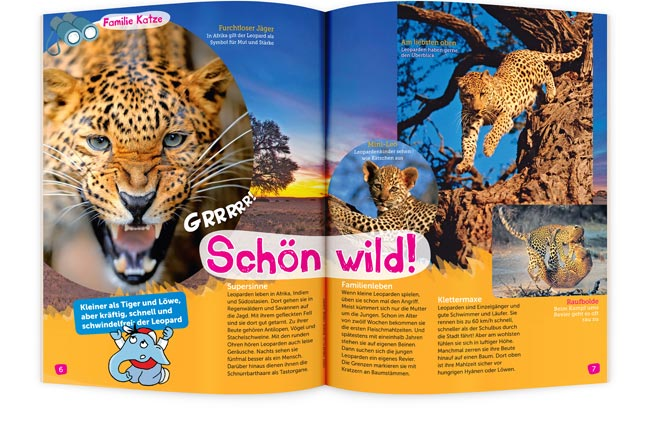 BIMBO Kinderzeitschrift schön und wild