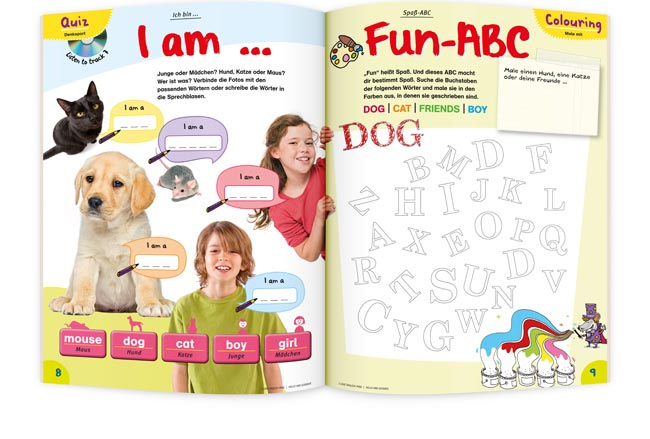 I LOVE ENGLISH Mini fun ABC