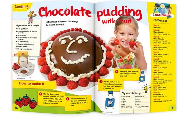 I LOVE ENGLISH Mini Pudding