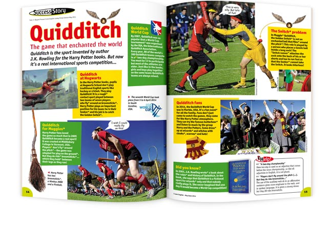 I LOVE ENGLISH Quidditch