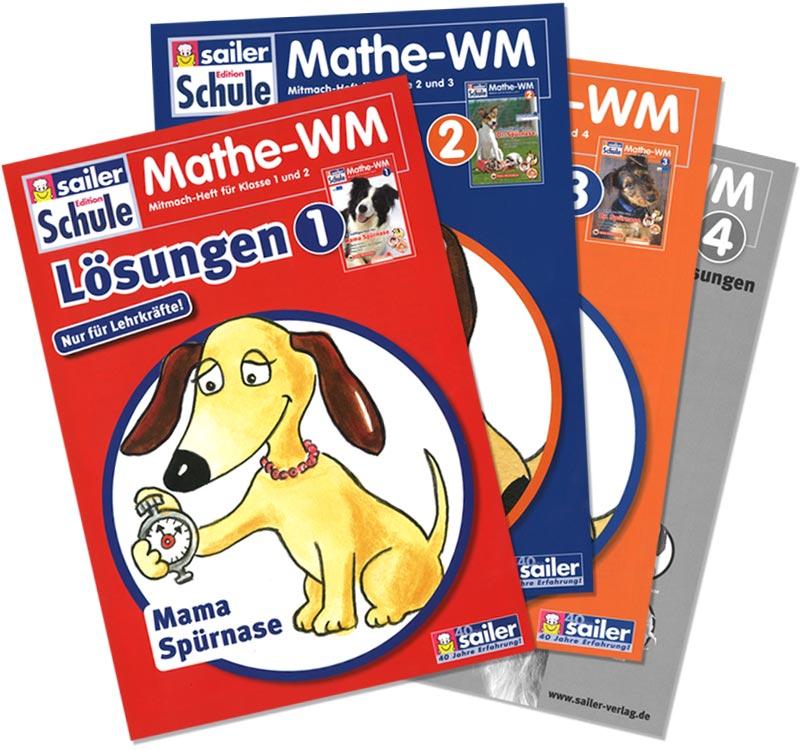 Lehrer-Handreichung Mathe-WM Klasse 2 : Sailer Verlag