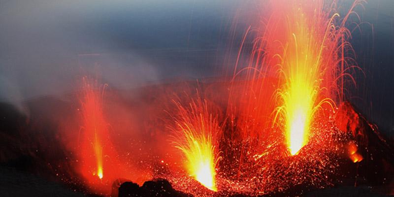 Berühmte Vulkane