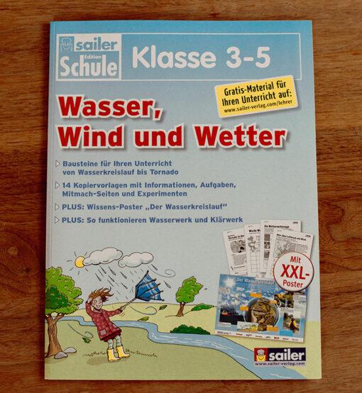 Bausteinmappe Wasser, Wind und Wetter