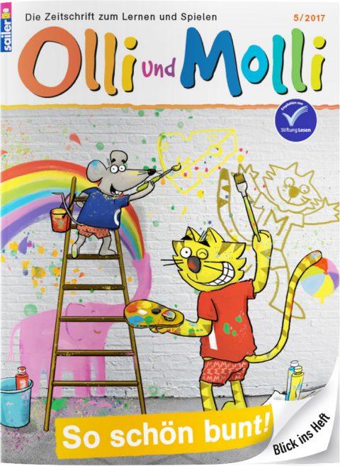 Blick ins Heft: Olli und Molli