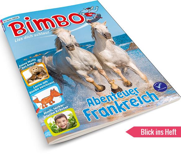 BIMBO Blick ins Heft