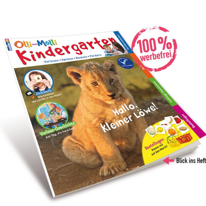 Olli und Molli Kindergarten - Blick ins Heft