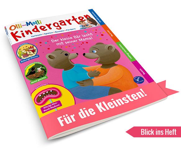 OLLI UND MOLLI Kindergarten Blick ins Heft