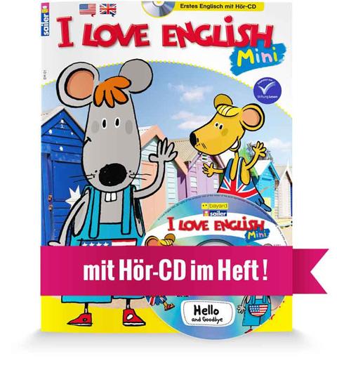 I LOVE ENGLISH Mini Cover