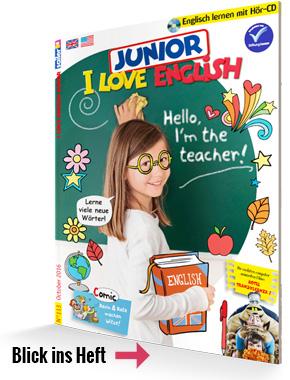I Love English Junior Kinderzeitschrift