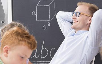 Entspannung für Lehrer