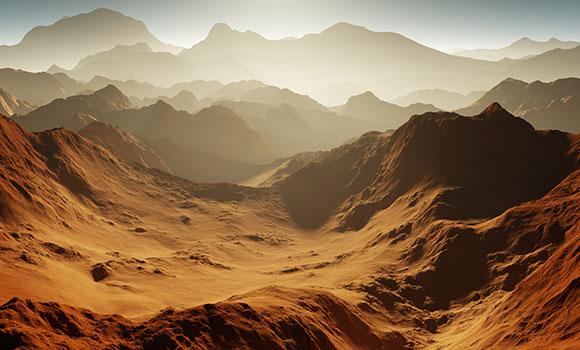 Arbeitsblätter Mission zum Mars