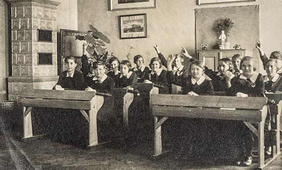 Arbeitsblätter Leben und Schule früher