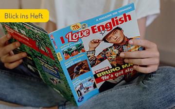 I Love English Heft Cover