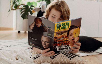 Dein Planet – Neues Teenmagazin von Sailer