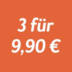 3 Ausgaben für 9,90 €