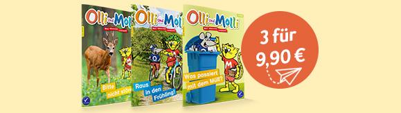 Olli und Molli 3 Ausgaben