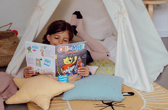 Ein Kind das liest