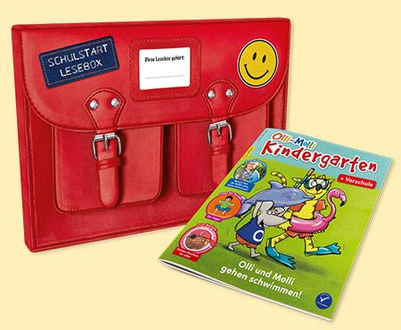 Lessebox mit Olli und Molli Kindergarten