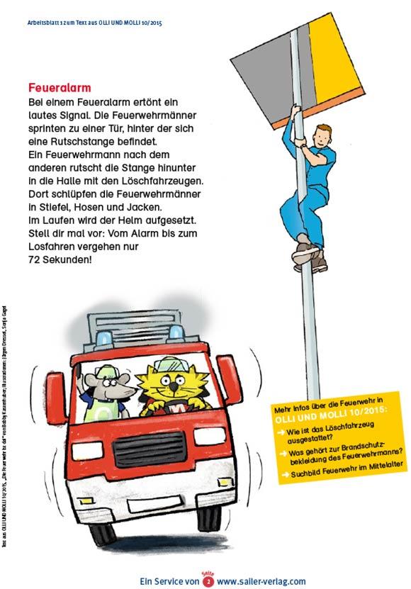 Arbeitsblätter Alles über die Feuerwehr-2