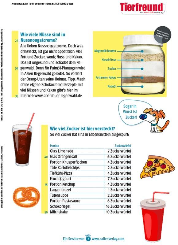 Arbeitsblätter Gesunde Ernährung-2