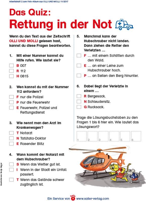 Arbeitsblätter Rettungsdienst-3