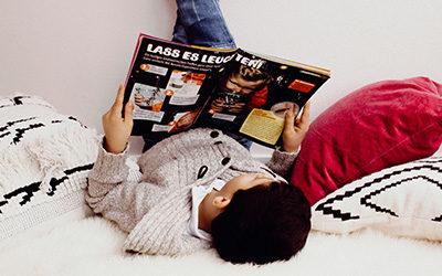 Bücher und Zeitschriften als Erziehungspartner