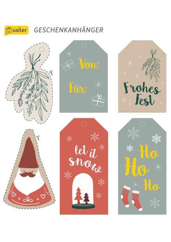 Weihnachts-Anhänger