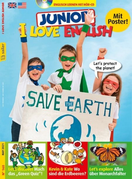 I Love English Junior Cover