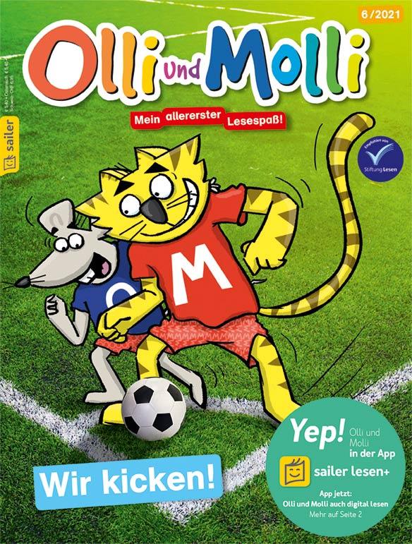 Olli Molli Cover Juni 2021