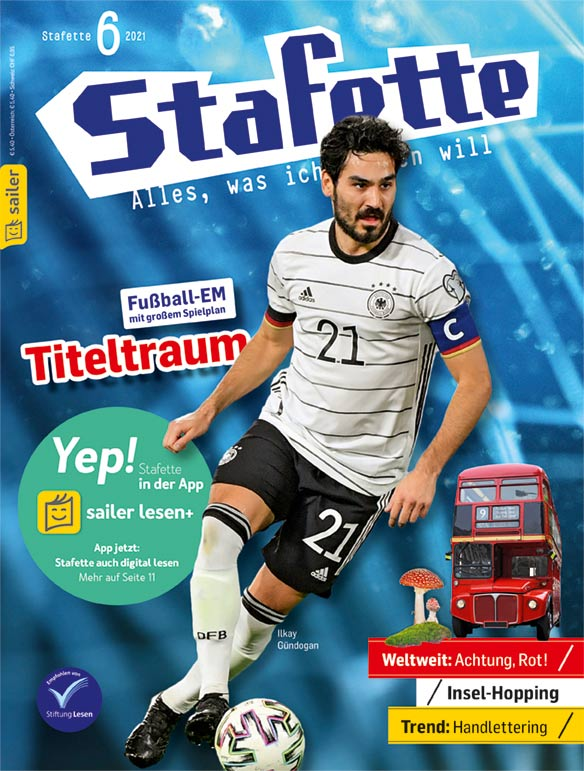 Stafette Cover Juni 2021
