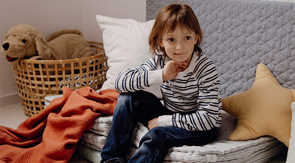 Schüchterne Kinder Textbild