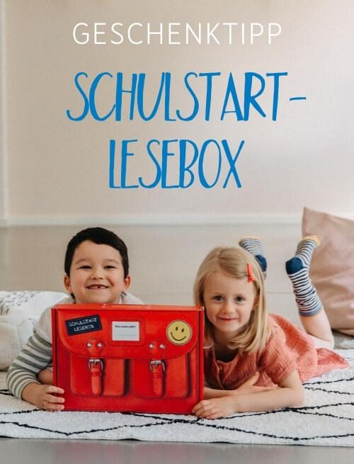 Geschenktipp Schulstart Lesebox