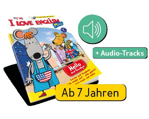 I Love English Mini + Audio-Tracks