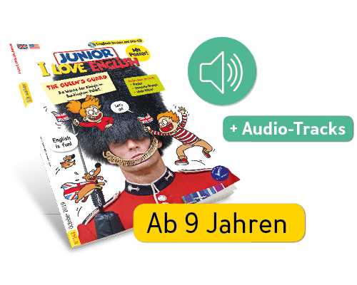 I Love English + Audio-Tracks