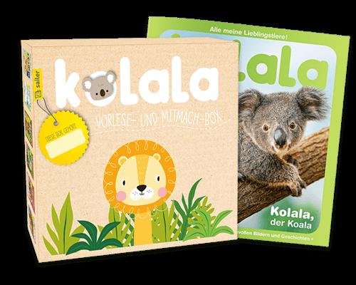 Kolala-Box mit Willkommensausgabe