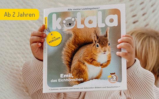 Kolala: Zeitschrift ab 2 Jahren